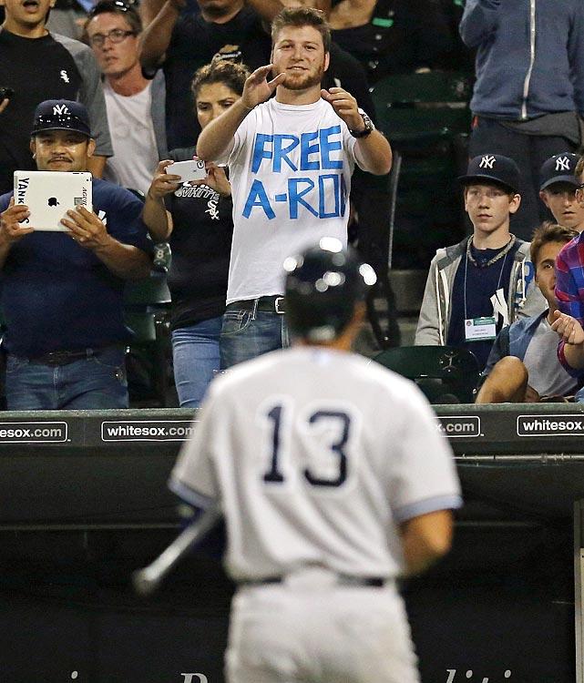 17 free a-rod - a-rod fan signs