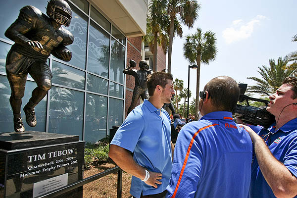 Florida Tebow Heisman Football
