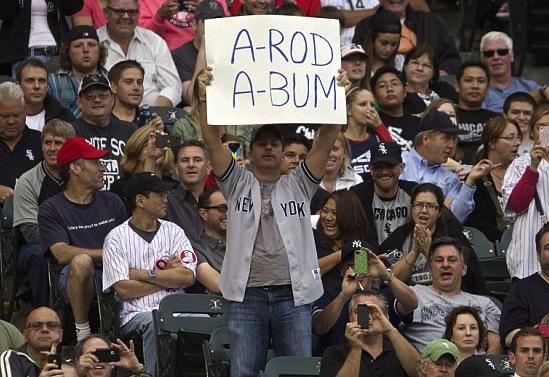 18 a-bum - a-rod fan signs