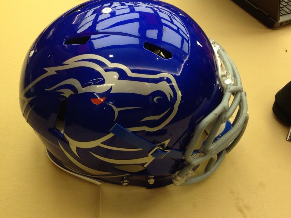 21 new boise state football helmet - 2013 college football helmets