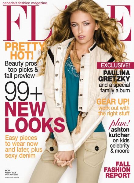 3 paulina gretzky in flare magazine 2005