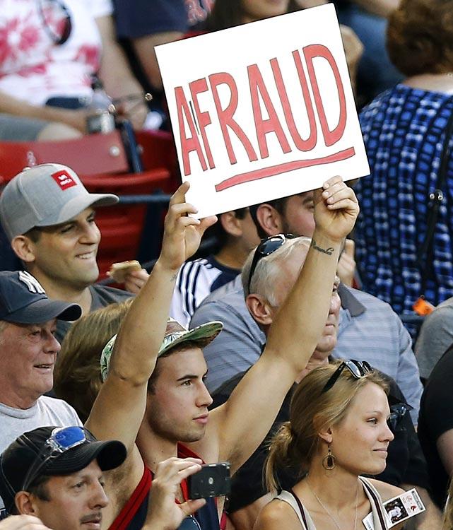 4 hat guy afraud - a-rod fan signs
