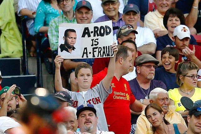 5 a-fraud - a-rod fan signs