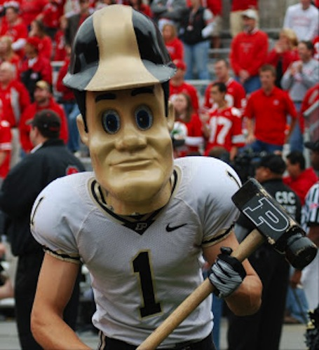 6 purdue pete mascot - creepiest college football mascots