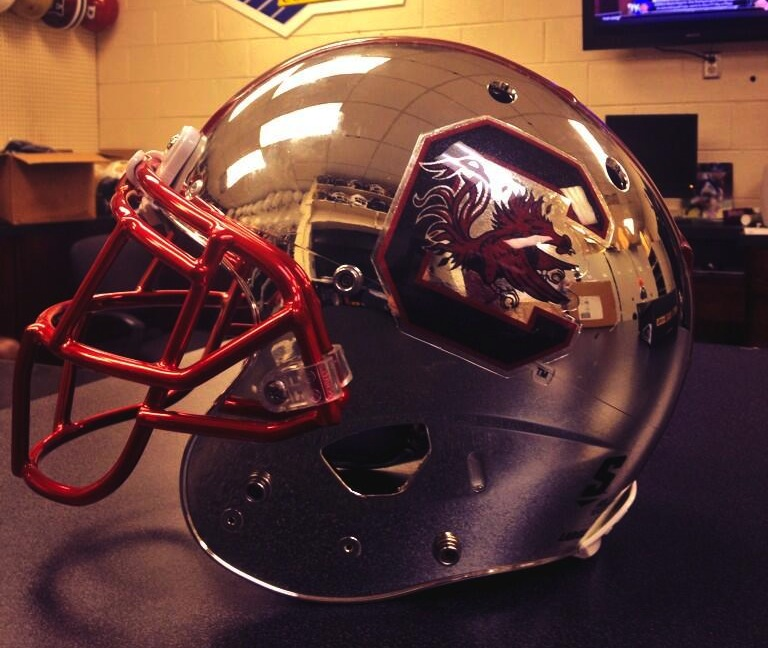 7 new South Carolina Gamecocks helmet - 2013 college football helmets