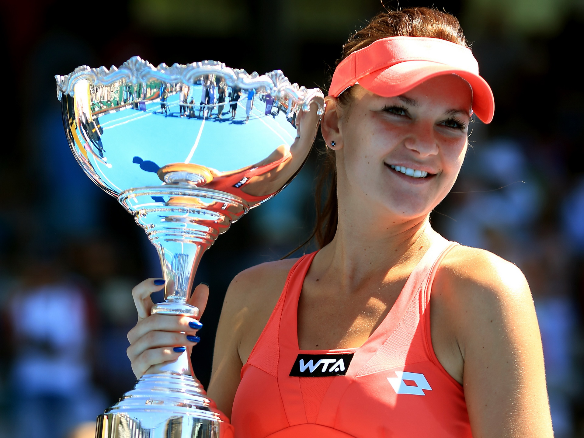 8 agnieszka radwanska - top paid female athletes 2013