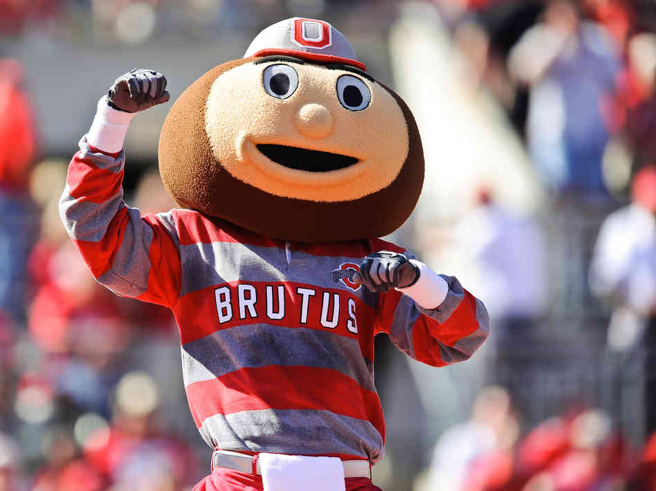 8 ohio state brutus - creepiest college football mascots