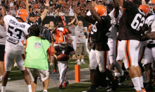 Cleveland Browns Give 5-Year-Old Cancer Patient Thrill of a Lifetime (Video)