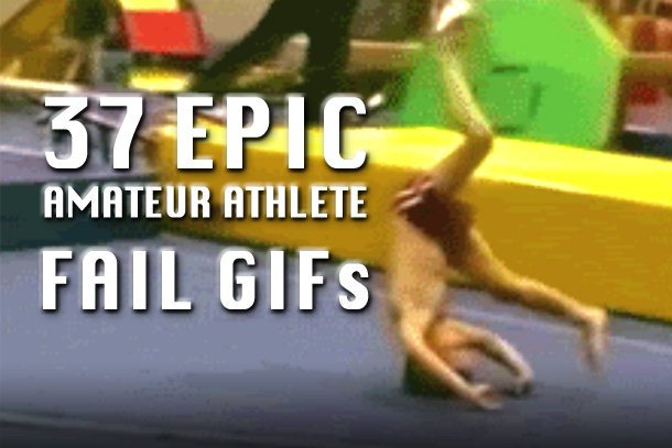 amateur athlete fail gifs