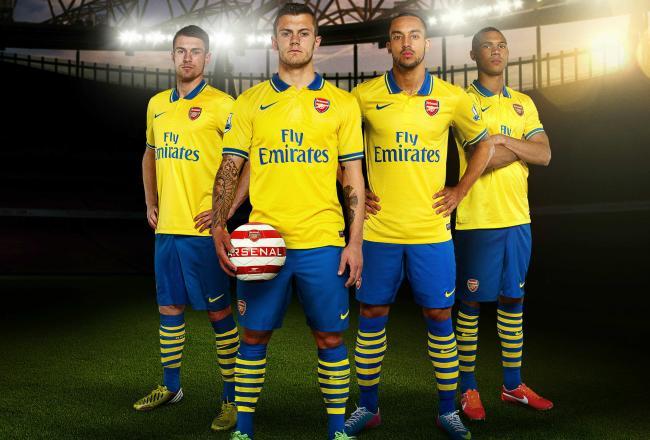 arsenal (away) - new premier league jerseys 2013