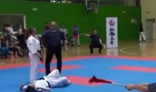 This Unexpected Karate Knockout Is Ridiculously Awesome (Video)