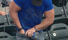 Big Muscles Couldn't Help This Mets Fan Open a Simple Bottle of Water (Video)