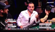 2013 World Series of Poker: Classic Reaction From Carter Gill Following Bad Beat on the River (Video)