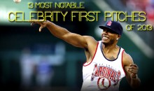 13 Most Notable Celebrity First Pitches of 2013