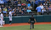 Camera Flash on Cell Phone Delays Major League Baseball Game (Video)