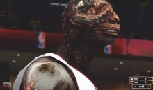 Chris Bosh is an 8-Foot Raptor in NBA 2K13 Simulation (Video)