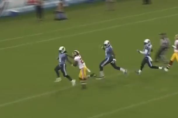 chris johnson touchdown