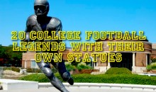 20 College Football Legends with Their Own Statues