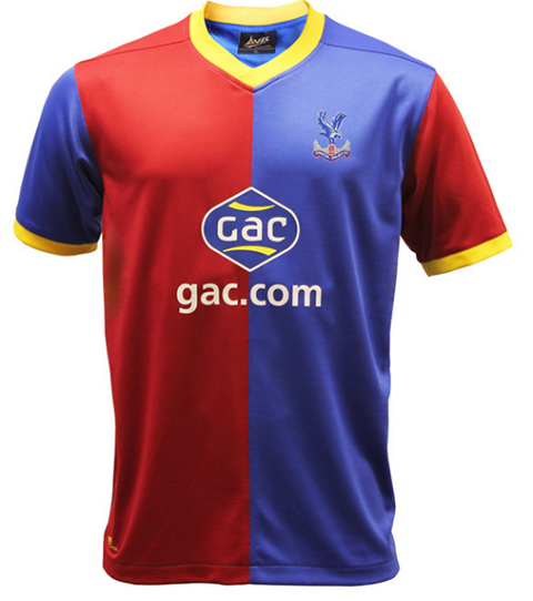 crystal palace (home) - new premier league jerseys 2013