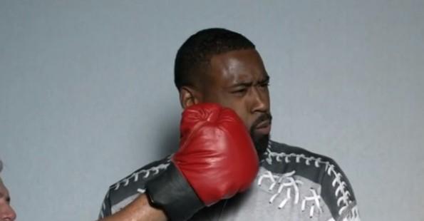 deandre jordan punched in face