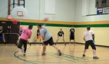 Behold this Ridiculous Double Dodgeball Catch (Video)
