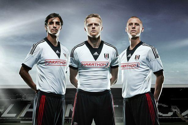 fulham (home) - new premier league jerseys 2013