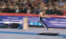 Viral Vine: Watch a Gymnast Go Flying Off a Springboard