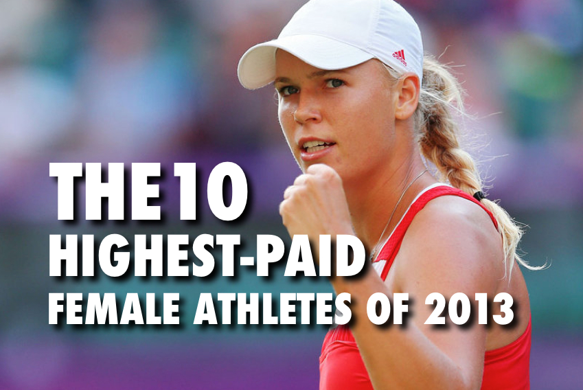 highest paid female athletes of 2013