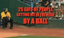 25 GIFs of People Getting Hit in the Head by a Ball