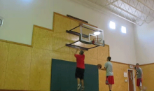 Is This The Most Insane Basketball Shot Of All-Time? (GIF)
