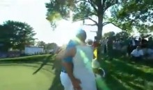 Jason Dufner Wins PGA Championship, Gives His Wife a Celebratory Butt Slap (Video)