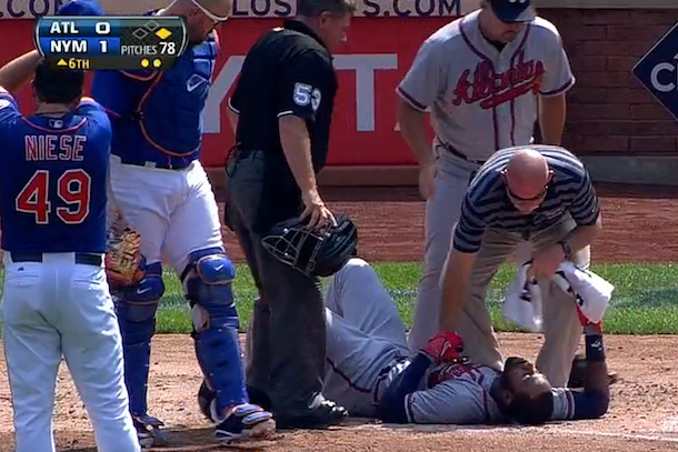 jason heyward hit in jaw by pitch