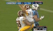 Kirk Cousins' Touchdown Celebration Was Awkward (GIF)