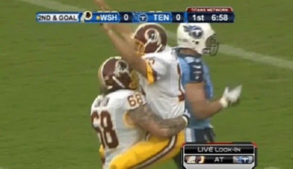 kirk cousins touchdown celebration