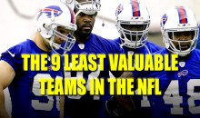 The 9 Least Valuable Teams in the NFL