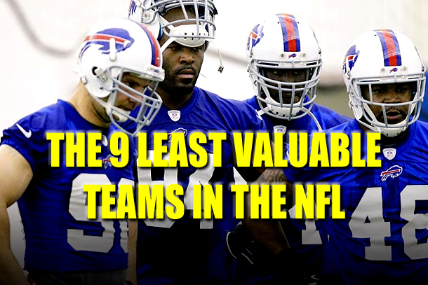 least valuable nfl franchises