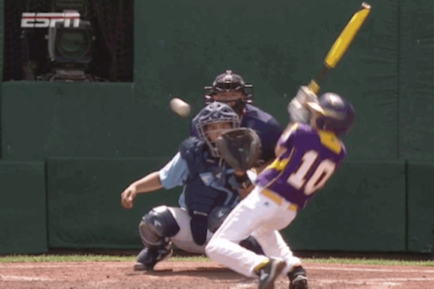 little league world series curveball freaks kid out