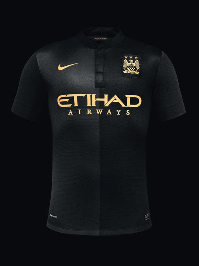 manchester city (away) - new premier league jerseys 2013