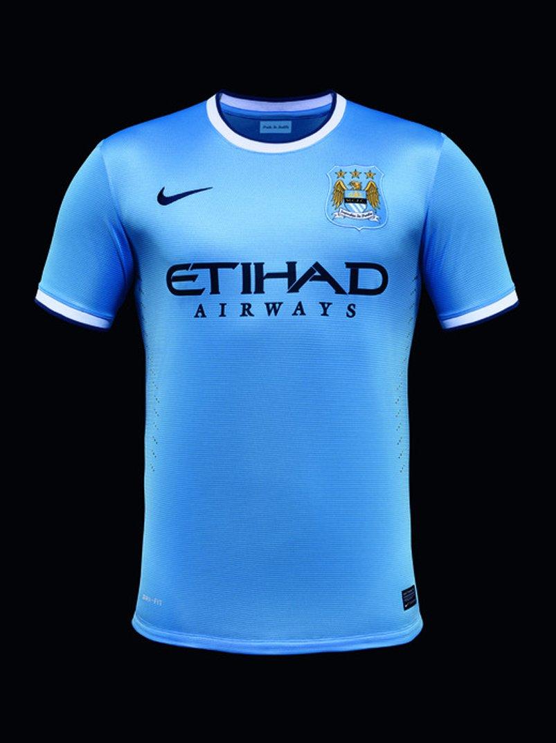 manchester city (home) - new premier league jerseys 2013