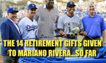 The 14 Retirement Gifts Given to Mariano Rivera…So Far