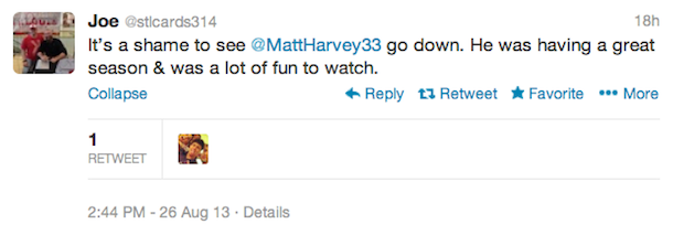 matt harvey injury tweets7