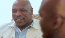 Evander Holyfield and Mike Tyson Talk About 'The Ear Bite' Face-to-Face (Video)