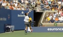 Rafael Nadal Gives Us The Best Shot of the 2013 U.S Open (Video)