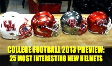 College Football 2013 Preview: 25 Most Interesting New Helmets