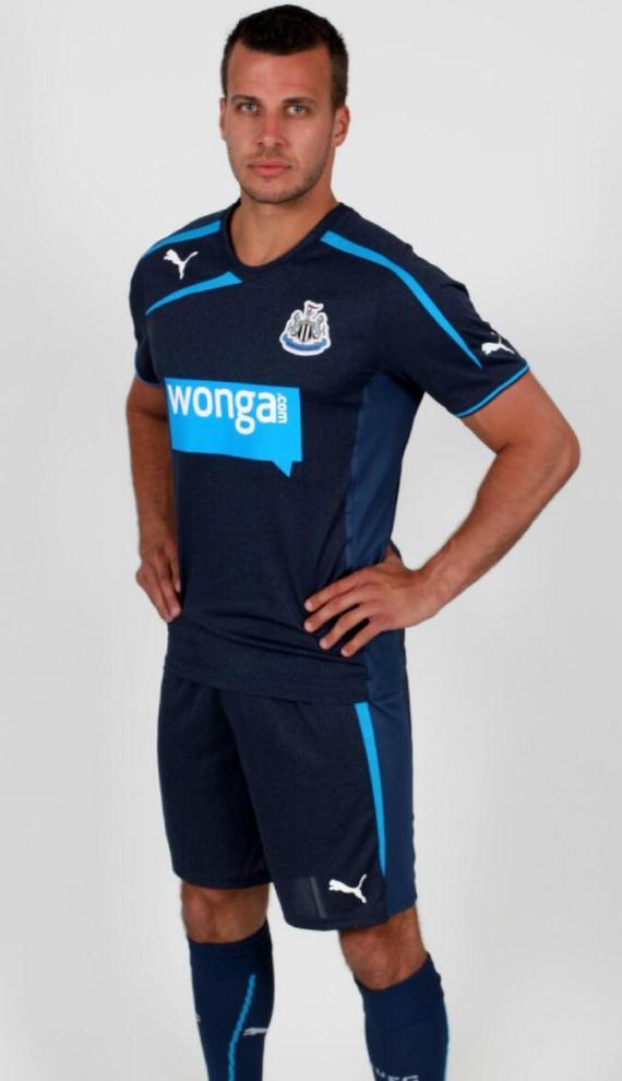 newcastle united (away) - new premier league jerseys 2013