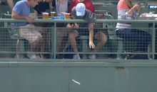 Someone Was Making it Rain at a Baseball Game Again (Video)