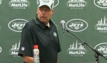 Rex Ryan Has Amusing Meltdown Following Jets Preseason Game (Video)