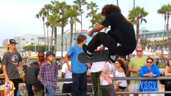 simple mobile skateboarding