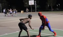 """The Professor"" Is Back with Another Edition of Spider-Man Basketball (Video)"