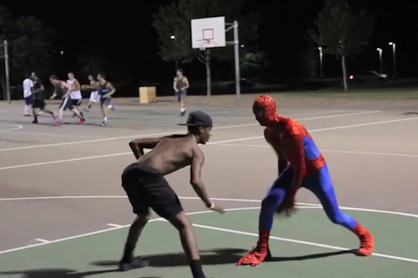 spiderman basketball 2